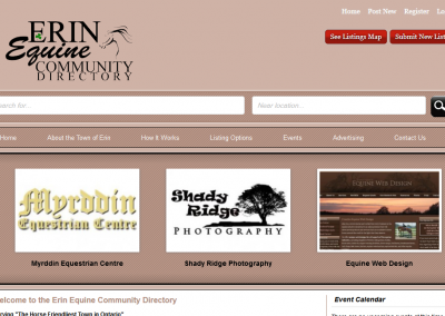 Erin Equine Community Directory