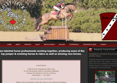 Holly Jacks Equestrian