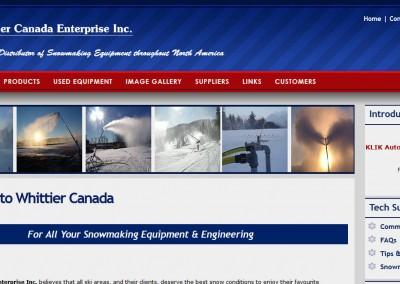 Whittier Canada Ent. Inc.