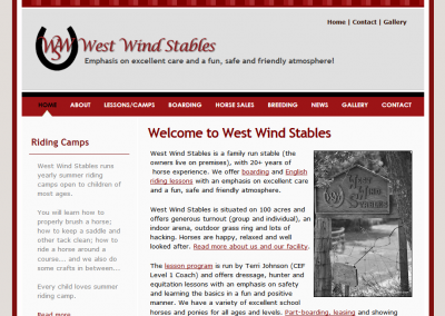 West Wind Stables